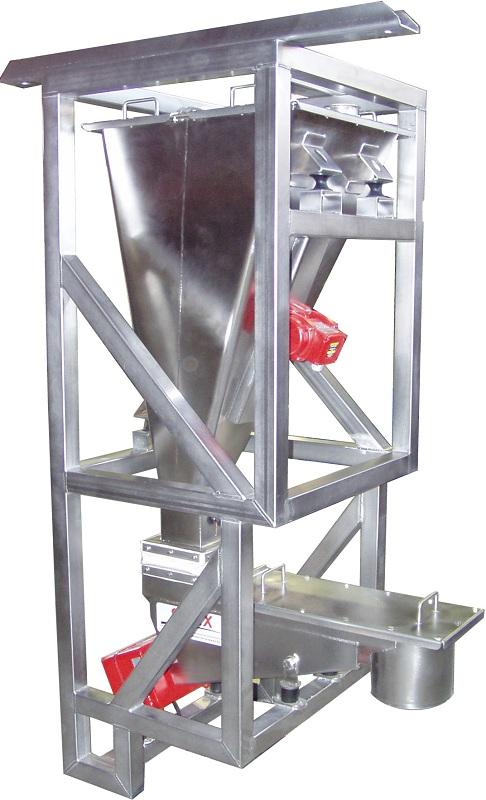 Ceramic powder vibrator hopper really. happens